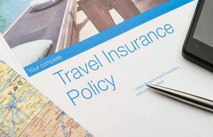 Travel insurance policy document