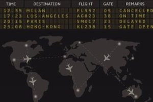 Airline Flight Tracking in Real Time
