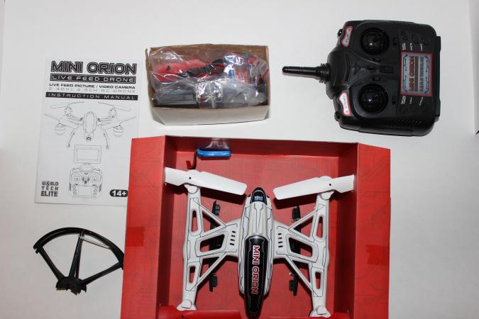 drone unboxing