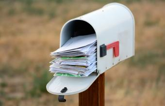 mailbox overflows with mail