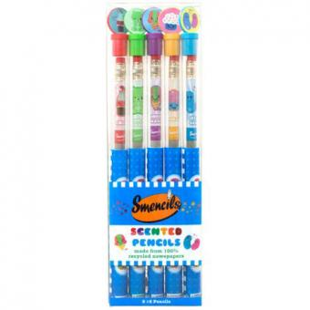 Smencils 5 Pack of scented pencils
